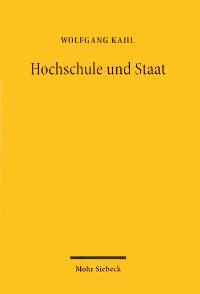 Hochschule und Staat