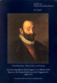 Die Korrespondenz Hans Fuggers von 1566 bis 1594