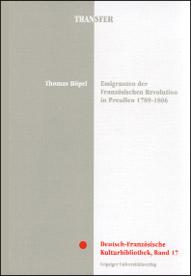Emigranten der Französischen Revolution in Preussen 1789-1806