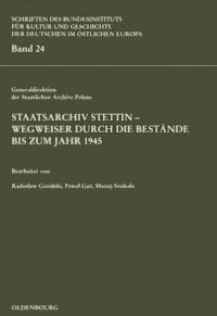 Staatsarchiv Stettin