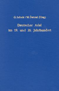 Deutscher Adel im 19. und 20. Jahrhundert