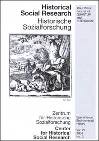 The Frontiers of Environmental history  - Umweltgeschichte in der Erweiterung