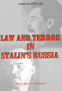 Law and Terror in Stalin's Russia