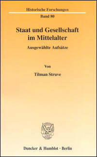 Staat und Gesellschaft im Mittelalter