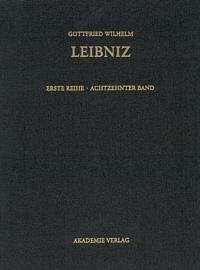 Sämtliche Schriften und Briefe. Erste Reihe: Allgemeiner politischer und historischer Briefwechsel