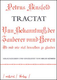 Tractat von Bekanntnuß der Zauberer vnnd Hexen