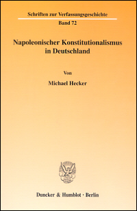 Napoleonischer Konstitutionalismus in Deutschland