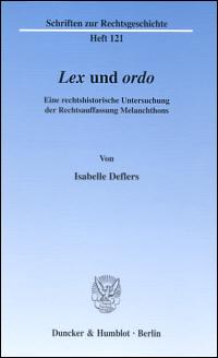 Lex und ordo
