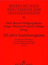 125 Jahre Sozialistengesetz