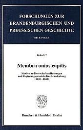 Membra unius capitis