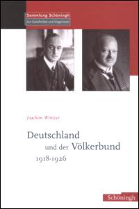 Deutschland und der Völkerbund 1918-1926
