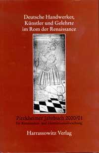 Deutsche Handwerker, Künstler und Gelehrte im Rom der Renaissance