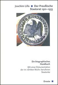 Der Preußische Staatsrat 1921-1933