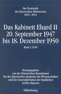 Das Kabinett Ehard II (20.9.1947 - 18.12.1950)