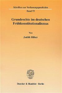 Grundrechte im deutschen Frühkonstitutionalismus
