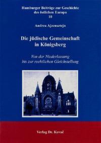 Die jüdische Gemeinschaft in Königsberg
