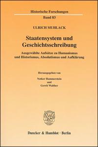 Staatensystem und Geschichtsschreibung
