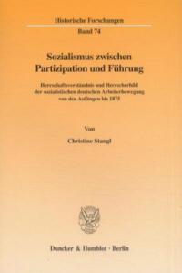 Sozialismus zwischen Partizipation und Führung