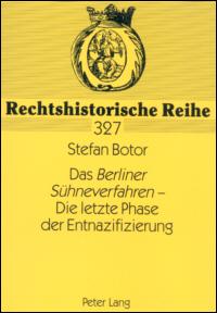Das Berliner Sühneverfahren