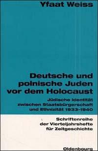 Deutsche und polnische Juden vor dem Holocaust