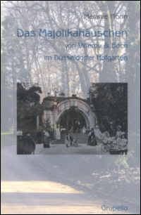 Das Majolikahäuschen von Villeroy & Boch im Düsseldorfer Hofgarten