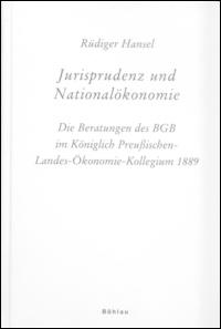 Jurisprudenz und Nationalökonomie