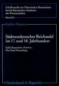 Südwestdeutscher Reichsadel im 17. und 18. Jahrhundert