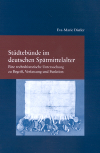 Städtebünde im deutschen Spätmittelalter