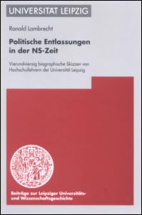 Politische Entlassungen in der NS-Zeit
