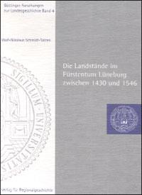 Die Landstände im Fürstentum Lüneburg zwischen 1430 und 1546