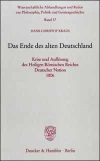 Das Ende des alten Deutschland