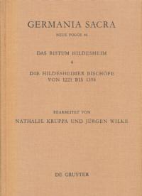 Das Bistum Hildesheim. Die Hildesheimer Bischöfe von 1221 bis 1398
