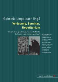 Vorlesung, Seminar, Repetitorium